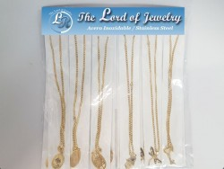 Stainless Steel Necklaces with Pendants for Women