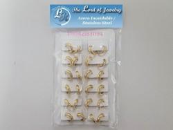 Unisex Stainless Steel  Earrings